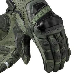 Guanti Moto Pelle REVIT Cayenne Pro Verde Nero, Guanti Moto Pelle