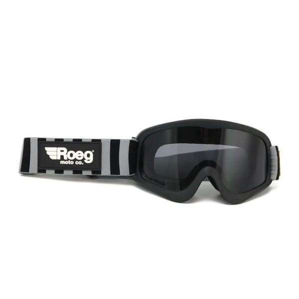 Motorcycle Goggles ROEG Moto Co Striped Peruna ,Motorcycle Goggles