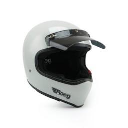 Motorrad Helm ROEG Moto Co Peruna Fog White