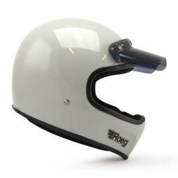 Motorcycle Helmet ROEG Moto Co Peruna Fog White, Vintage Helmets
