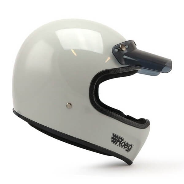 Casco Moto ROEG Moto Co Peruna Fog White