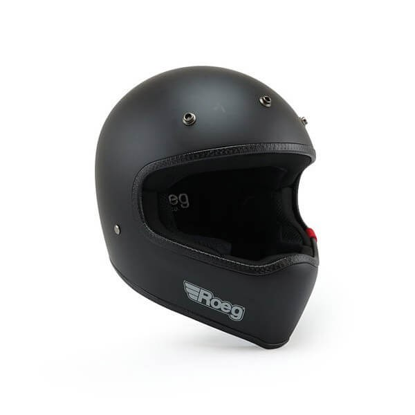 Casque Moto ROEG Moto Co Peruna Matt Black