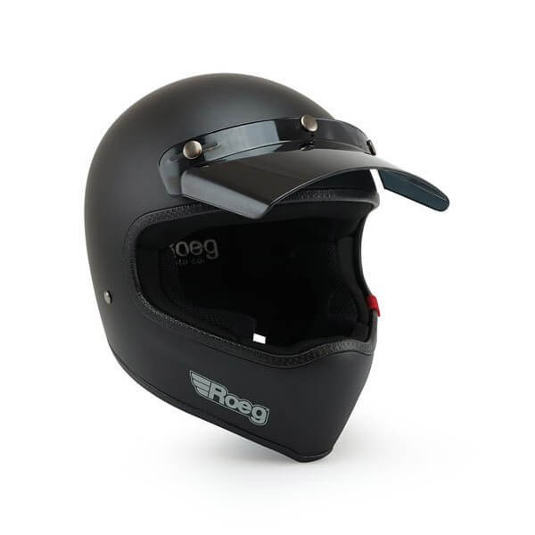 Motorcycle Helmet ROEG Moto Co Peruna Matt Black