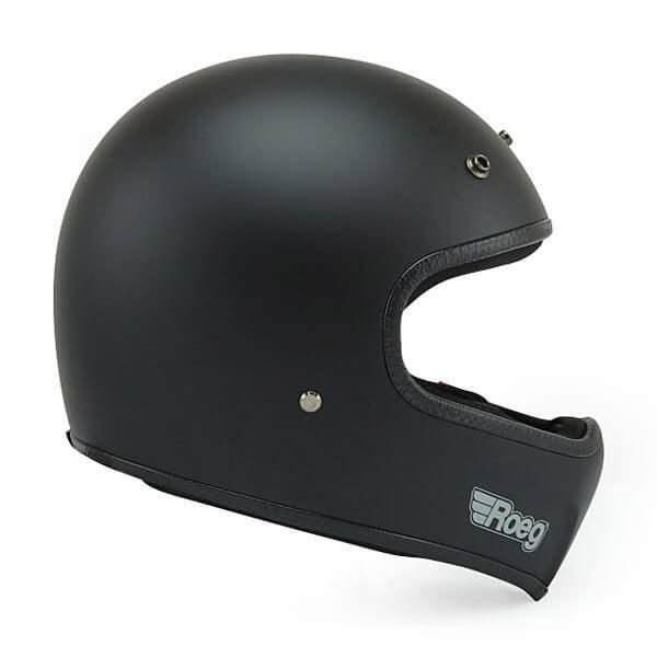 Casco Moto ROEG Moto Co Peruna Matt Black
