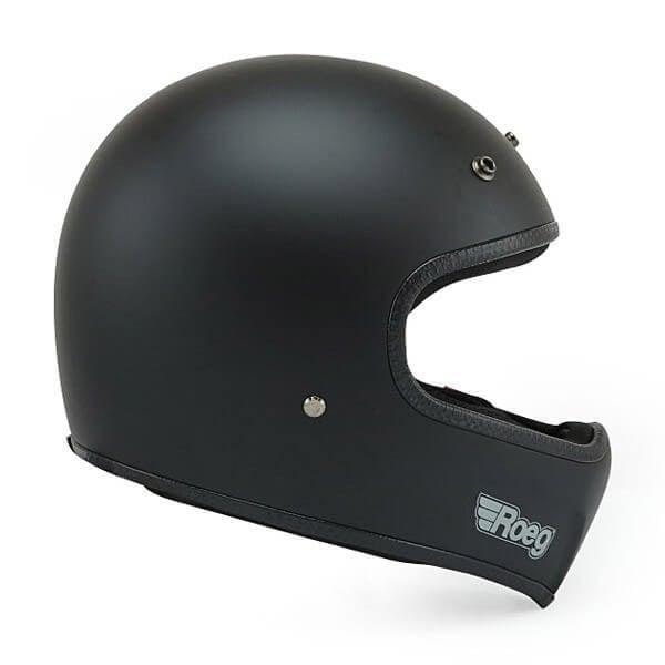 Motorrad Helm ROEG Moto Co Peruna Matt Black