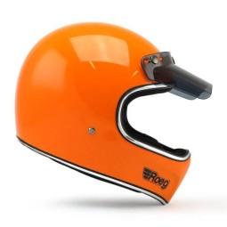 Motorcycle Helmet ROEG Moto Co Peruna Corn Yellow, Vintage Helmets