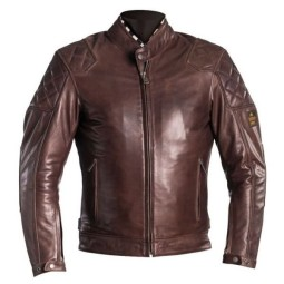Motorcycle Leather \nJacket HELSTONS Scoty Brown ,Leather Motorcycle Jackets