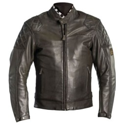 Motorcycle Leather \nJacket HELSTONS Scoty Kaki ,Leather Motorcycle Jackets