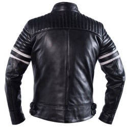 Motorcycle Leather \nJacket HELSTONS Yukon Black ,Leather Motorcycle Jackets