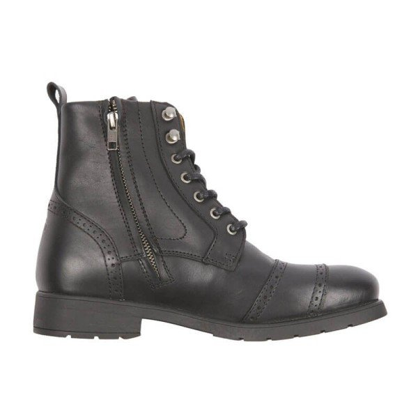 Helstons Motorcycle boots Baskand C5 Leather Aniline Black