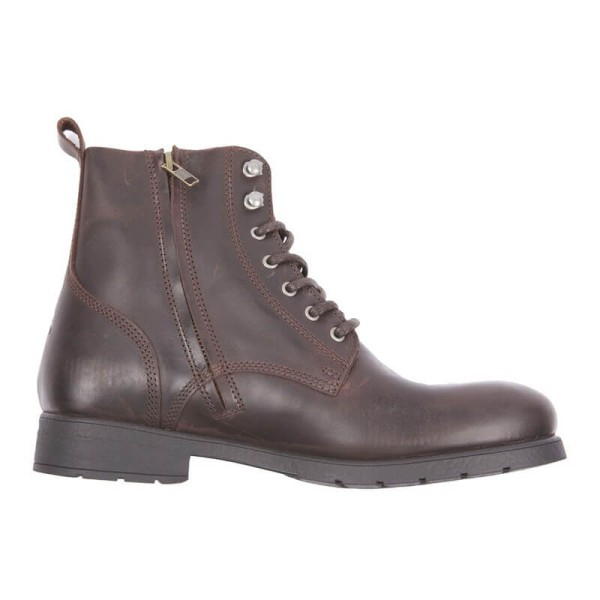 Motorcycle Shoes HELSTONS City Brown
