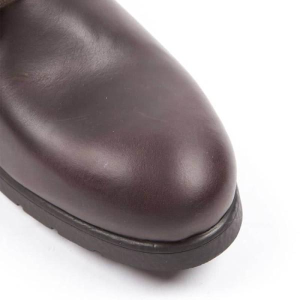 Chaussures de Moto HELSTONS City Marron