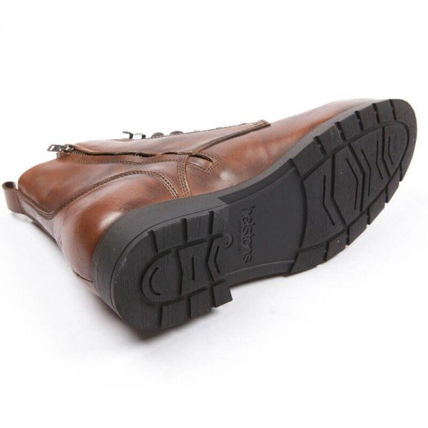 Motorcycle Shoes HELSTONS City Tan