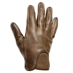 Guantes Cuero Moto HELSTONS Charly Camel
