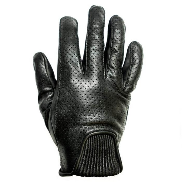 Motorcycle Leader Gloves HELSTONS Charly Noir ,Motorcycle Leather Gloves