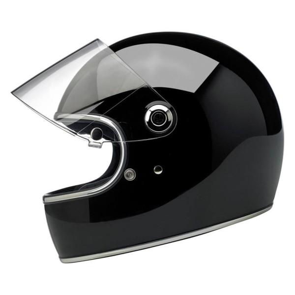 Motorcycle Helmet Vintage BILTWELL Gringo S Gloss Black