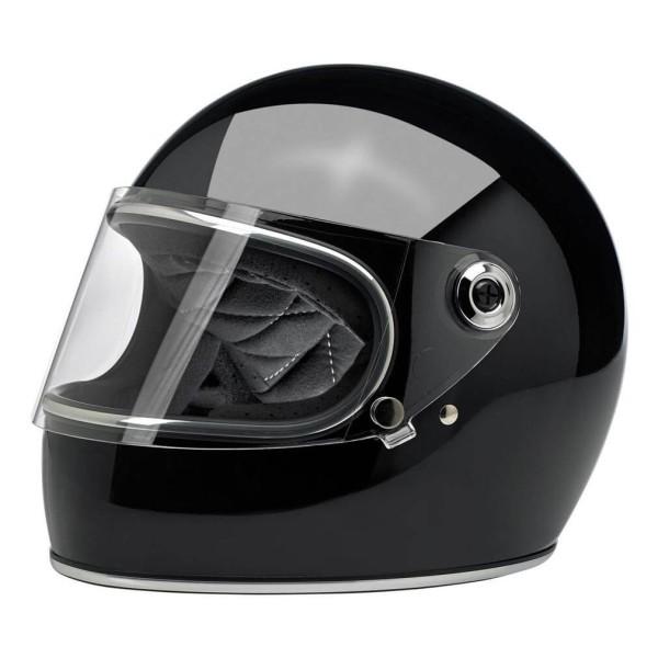 Motorrad Helm Vintage BILTWELL Gringo S Gloss Black