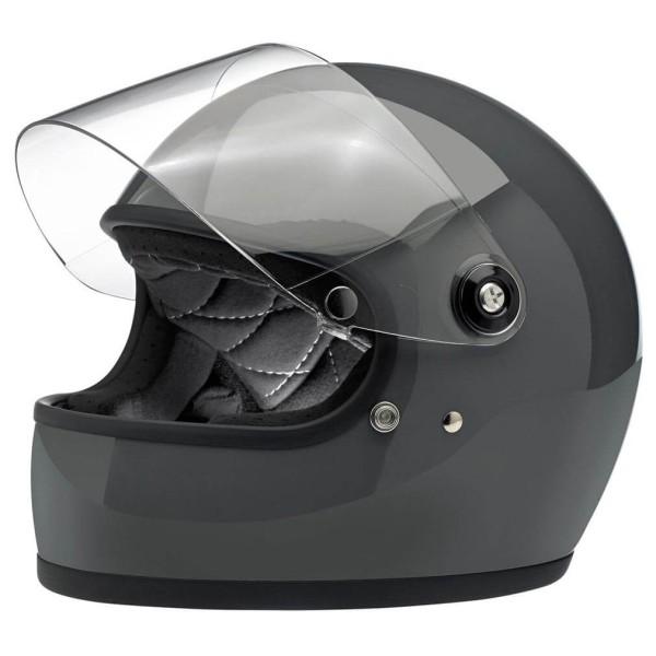 Motorcycle Helmet Vintage BILTWELL Gringo S Storm Grey