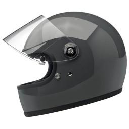 Motorrad Helm Vintage BILTWELL Gringo S Storm Grey