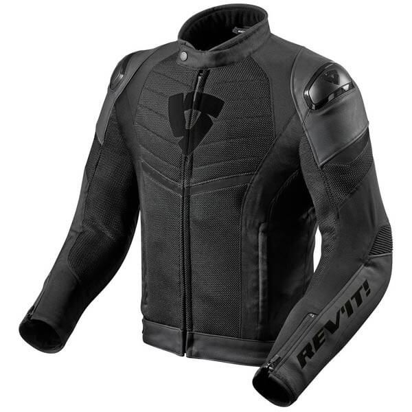 Motorcycle Jacket REVIT Mantis Black