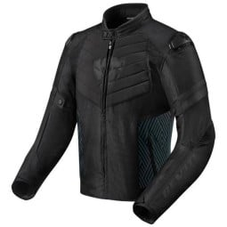 Motorcycle Jacket REVIT Arc H2O Black ,Motorcycle Textile Jackets