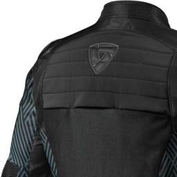 Chaqueta Moto REVIT Arc H2O Negro
