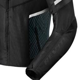 Blouson Moto REVIT Arc H2O Noir Blanc