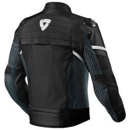 Motorcycle Jacket REVIT Arc H2O Black White ,Motorcycle Textile Jackets