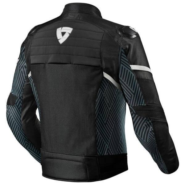 Motorcycle Jacket REVIT Arc H2O Black White