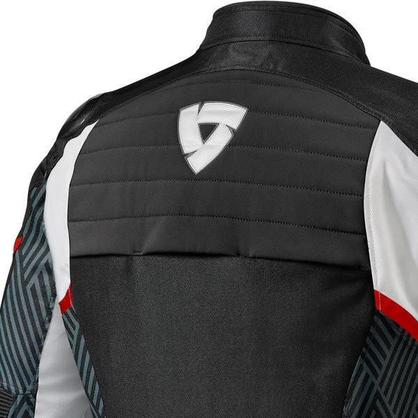 Motorcycle Jacket REVIT Arc H2O Black Red