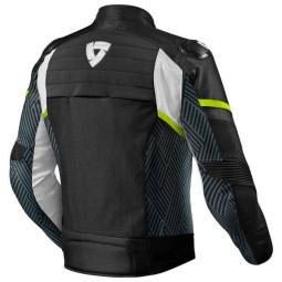 Giubbotto Moto REVIT Arc H2O Nero Giallo Fluo, Giubbotti e Giacche Tessuto Moto