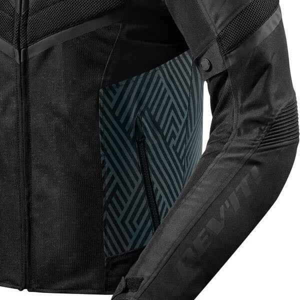 Blouson Moto REVIT Arc Air Noir