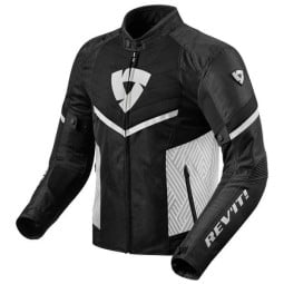 Blouson Moto REVIT Arc Air Noir Blanc