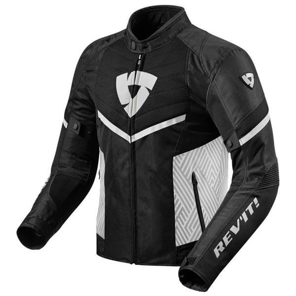 Blouson Moto REVIT Arc Air Noir Blanc