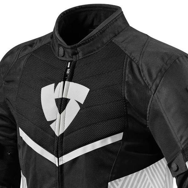 Motorcycle Jacket REVIT Arc Air Black White