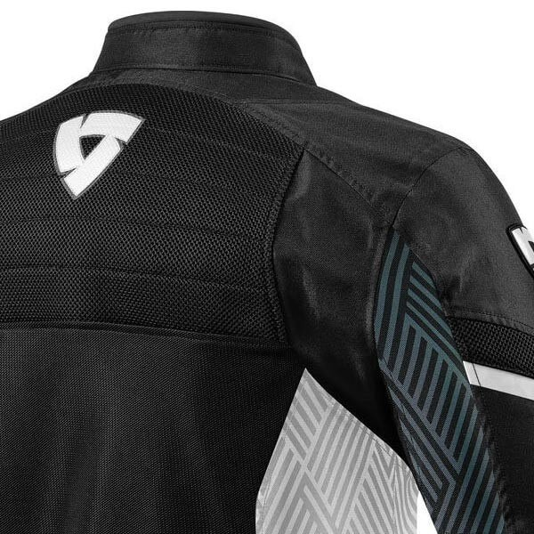 Chaqueta Moto REVIT Arc Air Negro Blanco