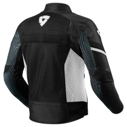 Motorcycle Jacket REVIT Arc Air Black White ,Motorcycle Textile Jackets