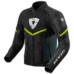 Motorrad Jacke REVIT Arc Air Schwarz Gelb Fluo ,Motorrad Textiljacken