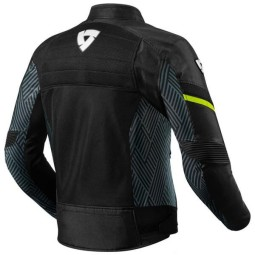 Motorcycle Jacket REVIT Arc Air Black Yellow Fluo ,Motorcycle Textile Jackets