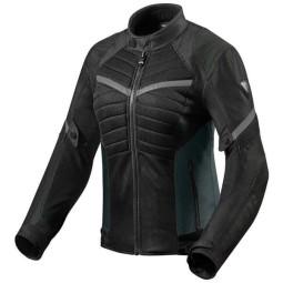 Chaqueta Moto REVIT Arc Air Mujer Negro Gris