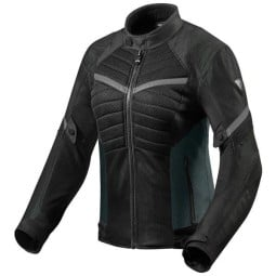 Motorcycle Jacket REVIT Arc Air Woman Black Grey
