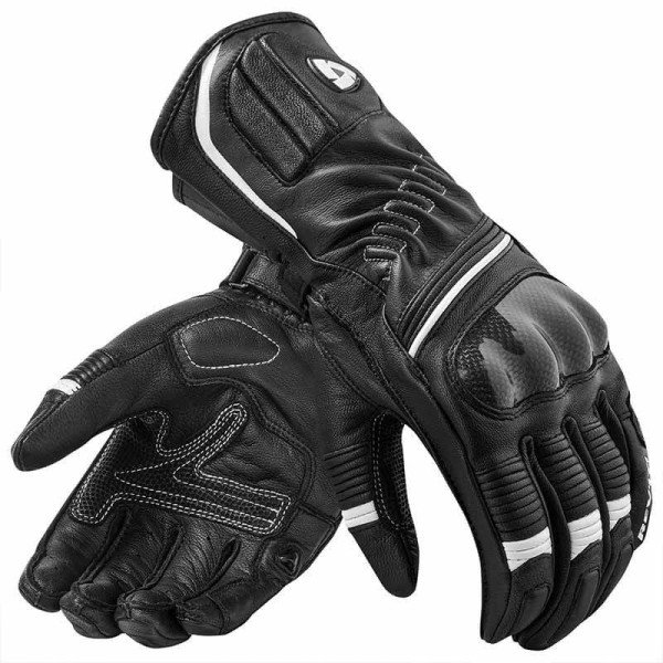 Motorcycle Leather Gloves REVIT Xena 2 Woman Black White