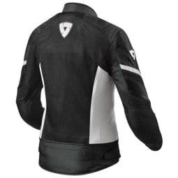 Blouson Moto REVIT Arc Air Femme Noir Blanc