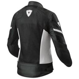 Giubbotto Moto REVIT Arc Air Donna Nero Bianco, Giubbotti e Giacche Tessuto Moto