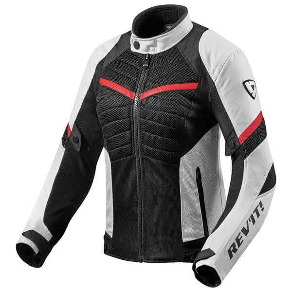 Motorcycle Jacket REVIT Arc Air Woman White Red