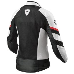 Motorcycle Jacket REVIT Arc Air Woman White Red ,Motorcycle Textile Jackets