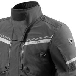 Giacca Moto Tessuto REVIT Poseidon 2 GTX Nero, Giubbotti e Giacche Tessuto Moto