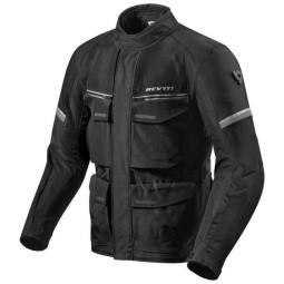 Motorrad-Stoffjacke REVIT Outback 3 Schwarz ,Motorrad Textiljacken