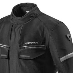 Motorcycle Fabric Jacket REVIT Outback 3 Black ,Motorcycle Textile Jackets
