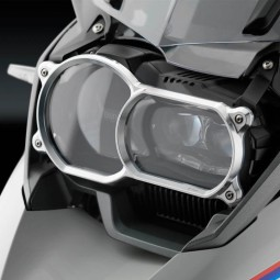 Rizoma Headlamp Cover Silver ,Motorcycle Protections
